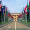 The UN Building, Geneva - Photo by Noz Urbina